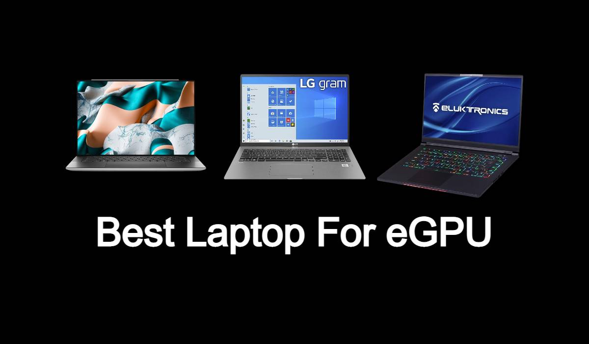 Best Laptop for Egpu